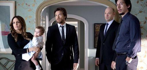 From left, Tina Fey as Wendy Altman, Jason