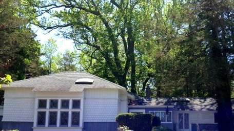 A three-bedroom house in Oakdale, is listed for