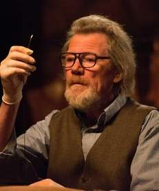 "Michael Parks in ""Tusk."""