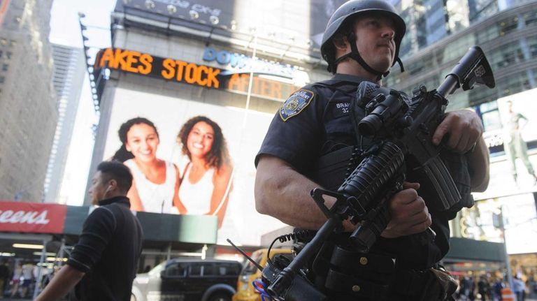 A New York City Police Department Hercules team