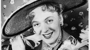 Christine Jorgensen in 1953, after a surgery changed