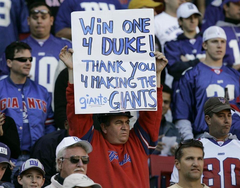 Longtime Giants co-owner Wellington Mara died on Oct.
