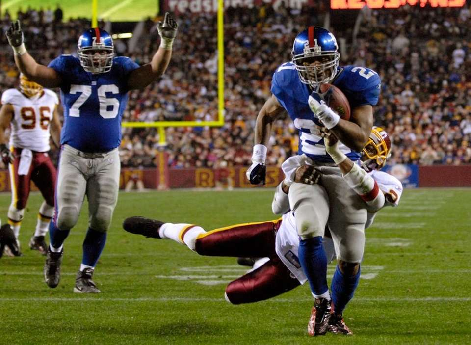 Tiki Barber had the game of his career