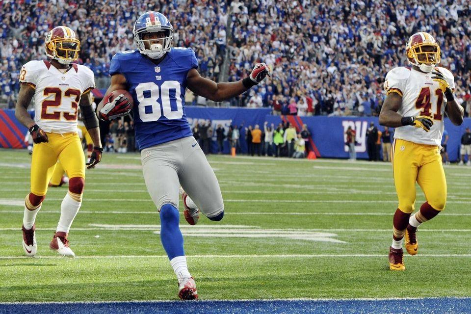 The Giants first met Redskins rookie QB Robert