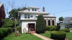 This house on Oak Avenue in Cedarhurst is