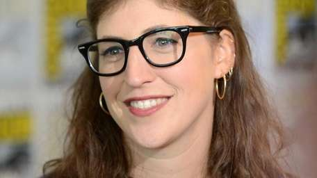 Actress Mayim Bialik attends
