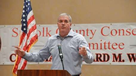 Suffolk County Conservative Committee Chairman Edward M. Walsh