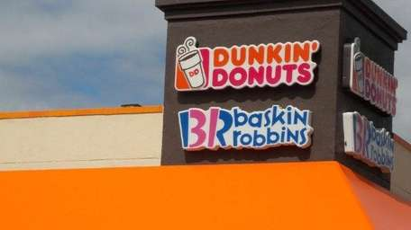 Dunkin' Donuts in Syosset. The chain recently started