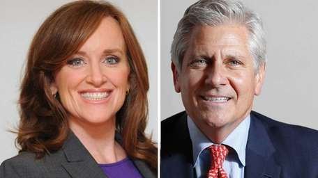 The congressional candidates in New York's 4th Congressional