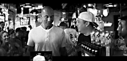 A frame grab from the Jeter Gatorade ad