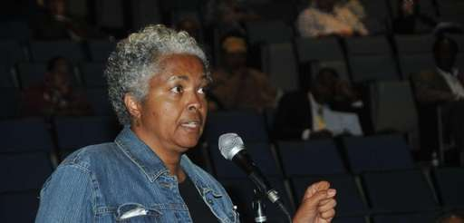 Sheriva Scott, 57, of Hempstead, shares her concerns