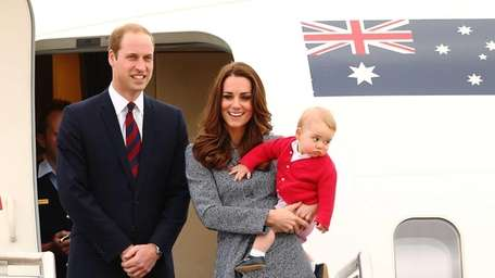 Prince William and Kate Middleton are expecting their