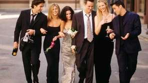 """Friends"" debuted on NBC on Sept. 22, 1994."