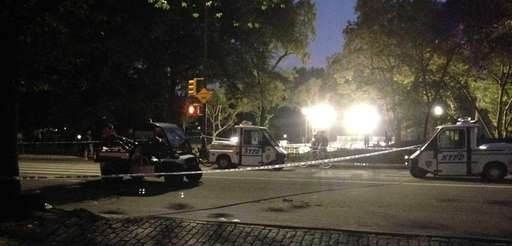 Scene in Central Park near 63rd Street where