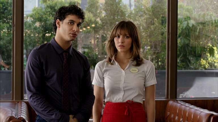 Elyes Gabel as Walter O'Brien and Katharine McPhee