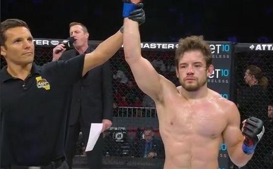 Jonny Bonilla-Bowman, a Serra-Longo fighter and former Hofstra