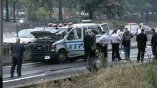 The NYPD says one officer was killed and