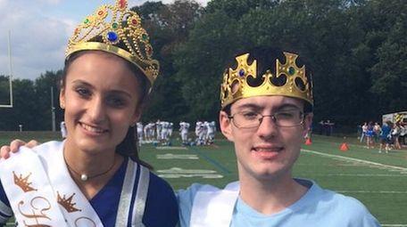 Paul D. Schreiber High School homecoming queen and