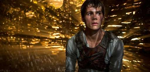 "Dylan O'Brien stars in ""The Maze Runner."""