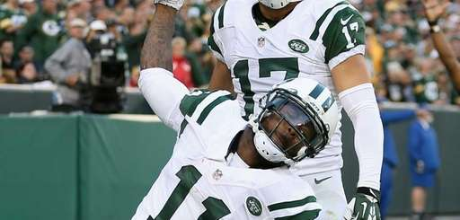 Wide receiver Jeremy Kerley #11 of the Jets