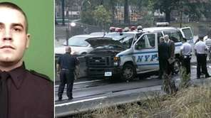 NYPD Officer Michael Williams, 25, of the Bronx,