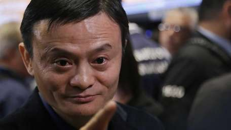 Alibaba founder Jack Ma on Sept. 19, 2014,