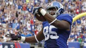 New York Giants tight end Daniel Fells is