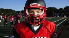 Patchogue-Medford's Tim Jones, 16, of Patchogue, on the