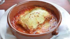The Trattoria chef-owner Steven Gallagher serves a five-layer