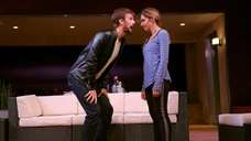 Frederick Weller and Callie Thorne in Neil LaBute's