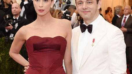 Sarah Silverman and Michael Sheen attend the