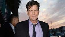 "Charlie Sheen arrives at the Dimension Films' ""Scary"