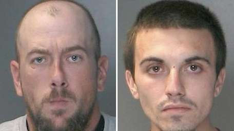 Chad Morizsan, 34, of Ridings Gate, Northport, left,