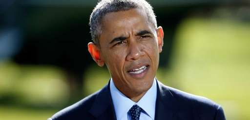 President Barack Obama delivers a statement on the