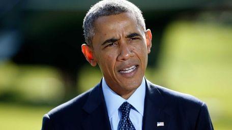 President Barack Obama speaks on Sept. 23, 2014,