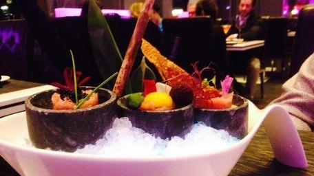 A toro, or fatty tuna, tasting is among