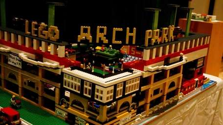 The 2nd Annual Lego Building Contest and Exhibit