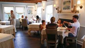 Families dine at The North Fork Table and