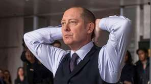The hit drama stars James Spader as a