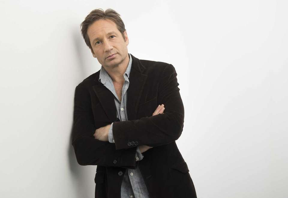 """Californication"": Follow David Duchovy who plays Hank, the"
