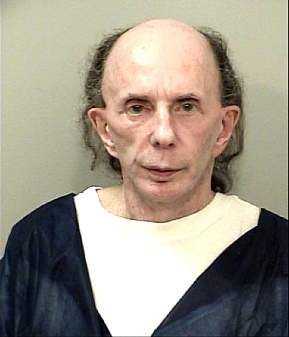Former music producer Phil Spector at the California