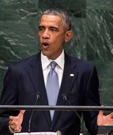 President Barack Obama speaks on Sept. 24, 2014,
