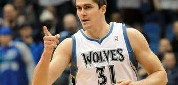 Minnesota Timberwolves' Darko Milicic of Serbia during the