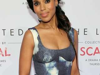 Actress Kerry Washington attends The Limited Scandal Collection