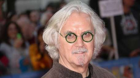 Billy Connolly arrives for the world premiere of