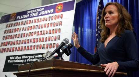 Kathleen Rice, who was the Nassau district attorney
