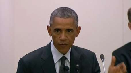 President Obama speaks at the high-level meeting at