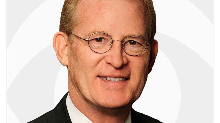 CBS newsman John Slattery, a four-time Emmy Award-winning