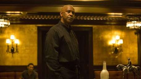 Denzel Washington appears in a scene from
