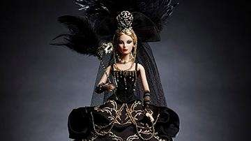 A Venetian Muse Barbie Doll is among the